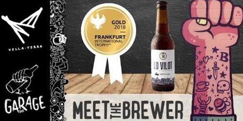 Flyer publicitario Meet the Brewer