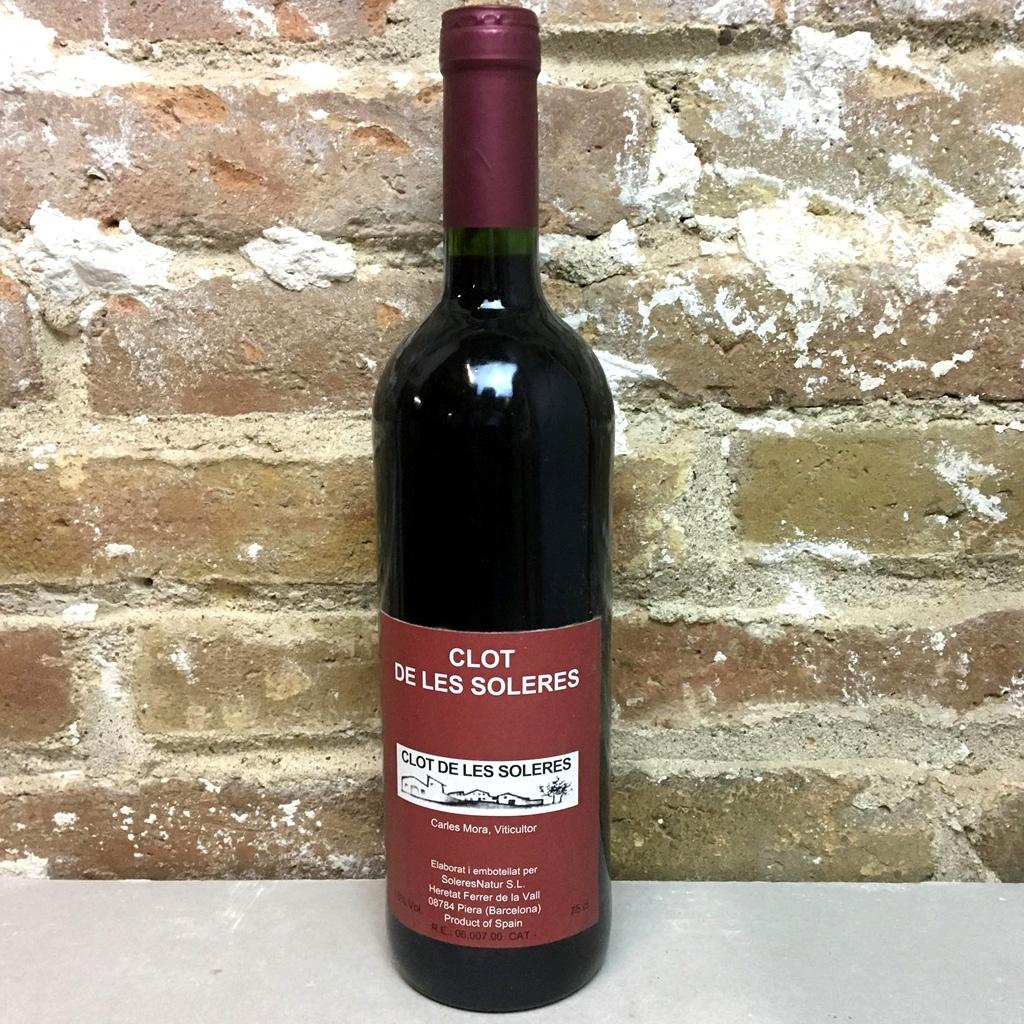 Vino natural Clot de les Soleres de Carles Mora